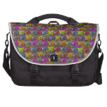 Cats, cats and more cats cartoon pattern. laptop computer bag