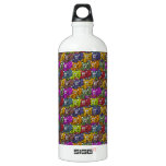 Cats, cats and more cats cartoon pattern. SIGG traveller 1.0L water bottle