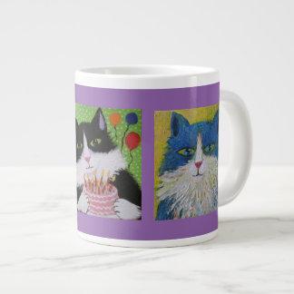 Cats cats cats jumbo mug