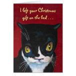 Cat's Christmas Gift Cards