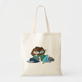 Cats. Coffee. Cuddles. Tote Bag