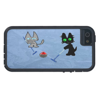 Cats Curling iPhone 5 Case