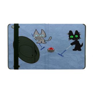 Cats Curling iPad Case