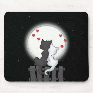 Cats Dating Mouse Mat