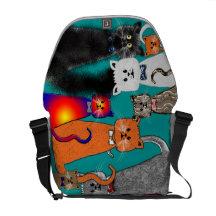 Cats design commuter bag