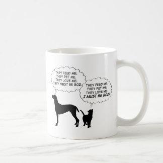 Cats & Dogs Classic White Coffee Mug