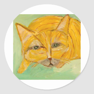 cats, dogs, cows by eric ginsburg sticker