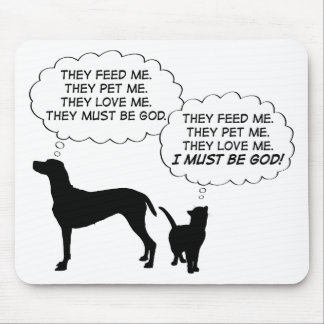 Cats & Dogs Mousepad