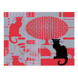 Cat's Dream Postcard