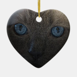 Cat's Eye Christmas Ornament