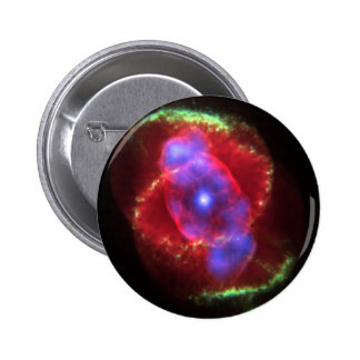 Cat's Eye Nebula 6 Cm Round Badge