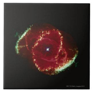 Cats Eye Nebula Large Square Tile