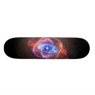 Cat's Eye Nebula Custom Skateboard