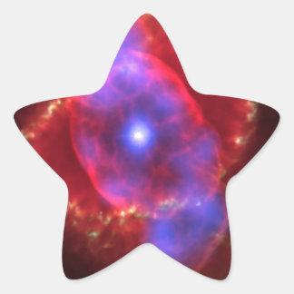 Cat's Eye Nebula Star Sticker