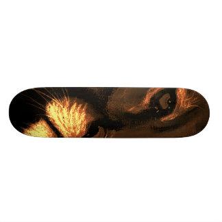 cats eyes - puma custom skateboard