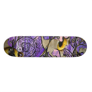 Cats Eyes Skateboard