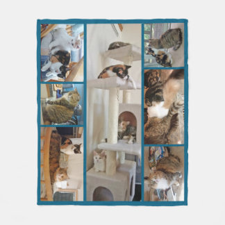Cats Fleece Blanket