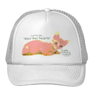 Cats for Nursing Students - Cat he Say Trucker Hat