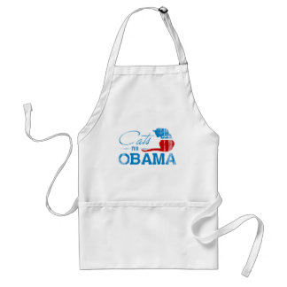 Cats for Obama - Faded.png Standard Apron