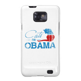 Cats for Obama - Faded.png Samsung Galaxy SII Case