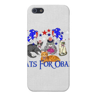 CATS FOR OBAMA iPhone 5 CASES