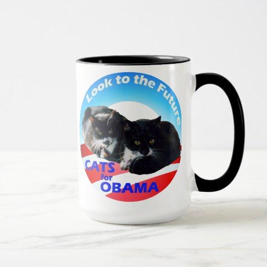 Cats for Obama mug