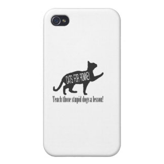 Cats For Romney Case For iPhone 4