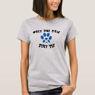 Cats for Scottish Independence Saltire Paw Tee