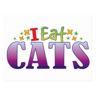 Cats I Eat Postcard