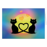 Cats in Love Cards