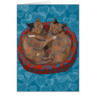 Cats in Love: Henry & Ruby... Card