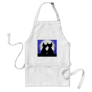 Cats In Moonlight Aprons