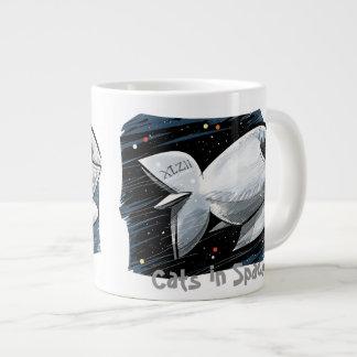 Cats in Space Jumbo Mug