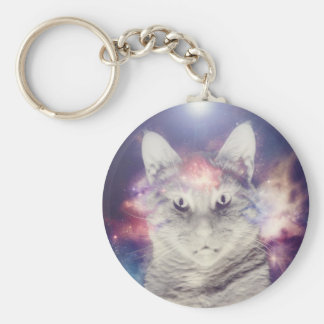 Cats in Space Keychains