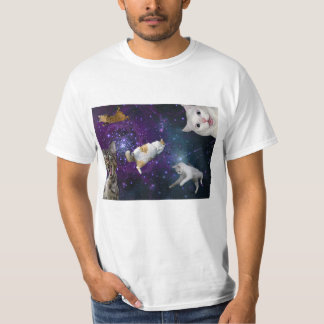 Cats in Space - Obviously Bad Photoshop T-Shirt