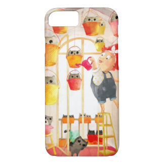 Cats in The Attic iPhone 8/7 Case