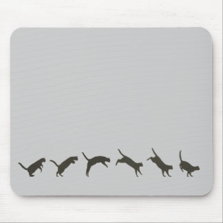 Cats Jumping Mouse Pads