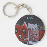 Cats,key chain