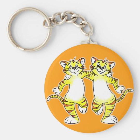 Cats keychain