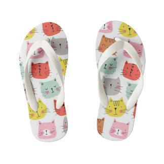 Cats Kid's Flip Flops