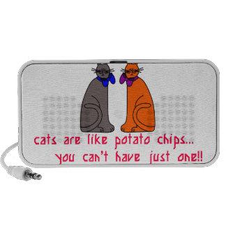 Cats Like Chips Speaker System