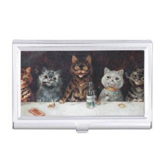 Cats, Louis Wain Business Card Holder
