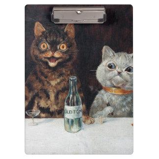Cats, Louis Wain Clipboard
