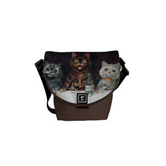 Cats, Louis Wain Commuter Bag