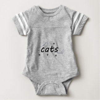 Cats love baby bodysuit