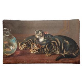 Cats Love Fish Cosmetic Bag