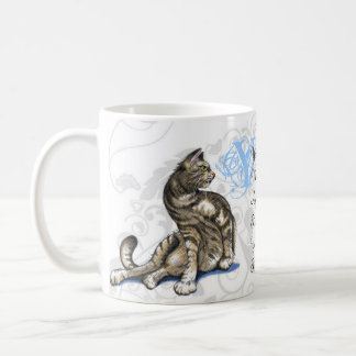 Cat's Love Basic White Mug