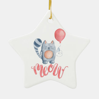 Cat's Meow Christmas Ornament