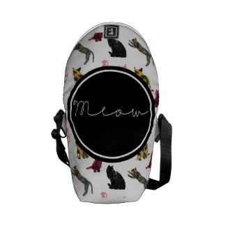 Cats Meow Courier Bag