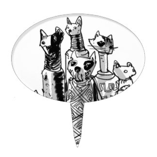 cats_mummies_seffaf cake pick
